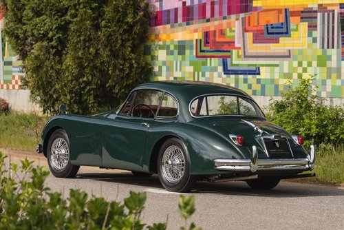 LHD 1957 Jaguar XK150 Automatic with Factory Overdive!  SOLD (picture 3 of 6)