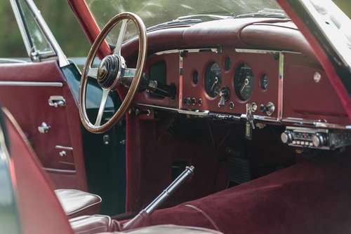 LHD 1957 Jaguar XK150 Automatic with Factory Overdive!  SOLD (picture 4 of 6)