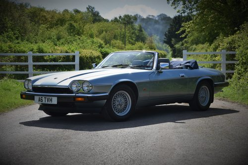 "1993 – JAGUAR XJS 4.0 AUTO CONVERTIBLE – ""SHINING BRIGHT"" SOLD (picture 1 of 6)"