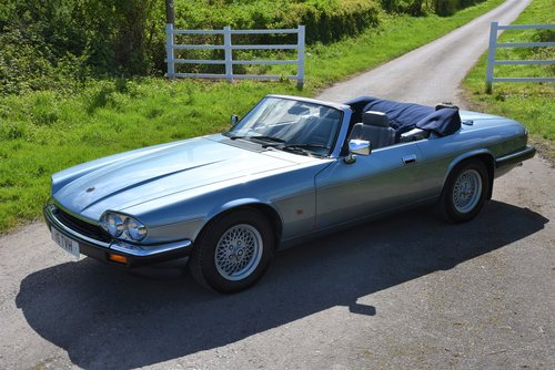 "1993 – JAGUAR XJS 4.0 AUTO CONVERTIBLE – ""SHINING BRIGHT"" SOLD (picture 2 of 6)"