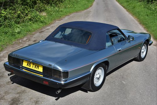 "1993 – JAGUAR XJS 4.0 AUTO CONVERTIBLE – ""SHINING BRIGHT"" SOLD (picture 3 of 6)"