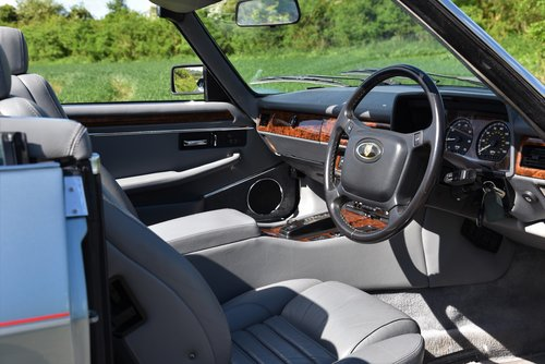 """1993 – JAGUAR XJS 4.0 AUTO CONVERTIBLE – """"SHINING BRIGHT"""" For Sale (picture 4 of 6)"""