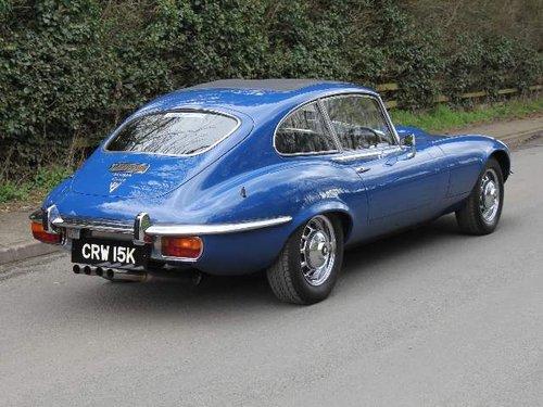 1973 Jaguar E-Type V12, 52K miles, UK Matching No's car SOLD (picture 3 of 6)