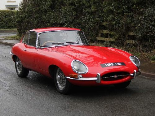 1964 Jaguar E-Type Series I 3.8 Matching No's, UK car SOLD (picture 1 of 6)