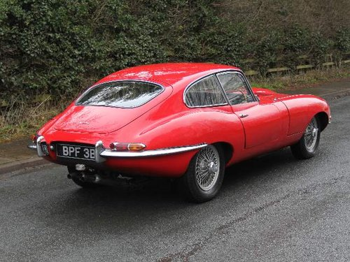 1964 Jaguar E-Type Series I 3.8 Matching No's, UK car SOLD (picture 3 of 6)