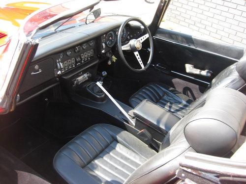 1974 Jaguar E Type RHD Series 3 V12 Manual Roadster SOLD (picture 3 of 6)