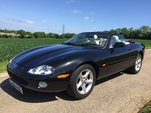 2002 Jaguar XK8 Convertible One family ownership SOLD (picture 1 of 6)