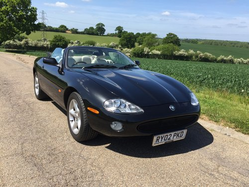 2002 Jaguar XK8 Convertible One family ownership SOLD (picture 4 of 6)