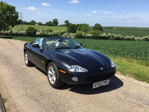 2002 Jaguar XK8 Convertible One family ownership SOLD (picture 6 of 6)