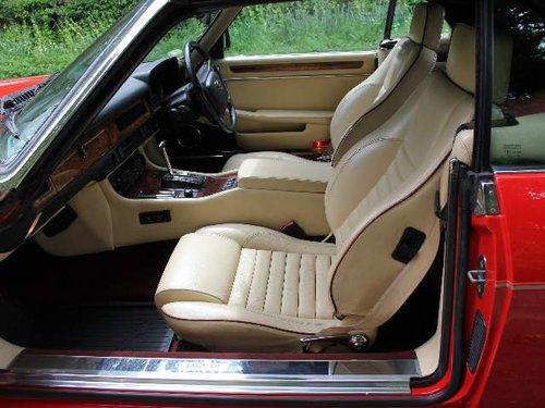 1960 1990 Jaguar XJS V12 Convertible - 57k miles, FSH For Sale (picture 5 of 6)