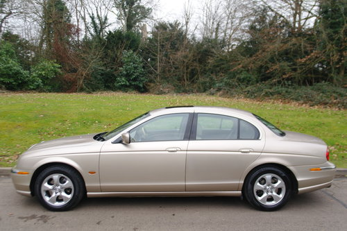 2002 Jaguar S Type 3.0 V6 SE Auto. Demo + 1 Owner. FSH. Low Miles SOLD (picture 2 of 6)