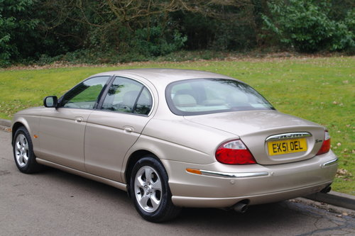 2002 Jaguar S Type 3.0 V6 SE Auto. Demo + 1 Owner. FSH. Low Miles SOLD (picture 6 of 6)