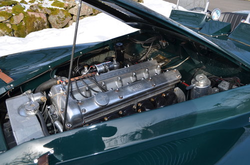 Jaguar XK 120 Full Alu body. 1953 For Sale (picture 5 of 6)