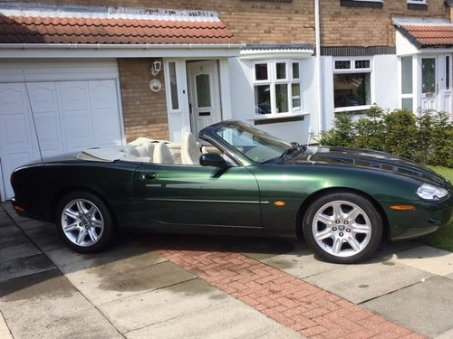 1998 XK8 Convertible prev celebrity owner SOLD | Car And Classic