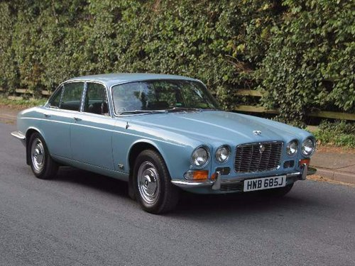 1970 Jaguar XJ6 Series I 2.8 Manual with Overdrive For ...