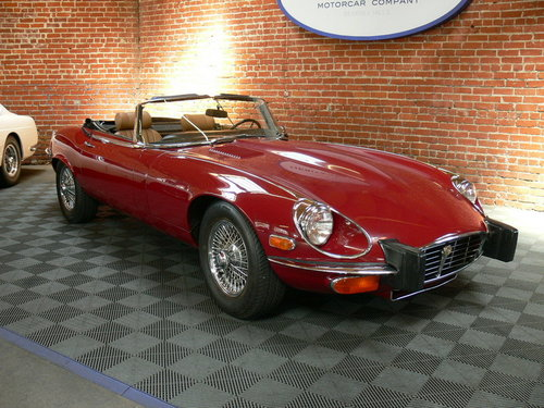 1974 Jaguar E-Type Series III V-12 Roadster SOLD (picture 1 of 1)