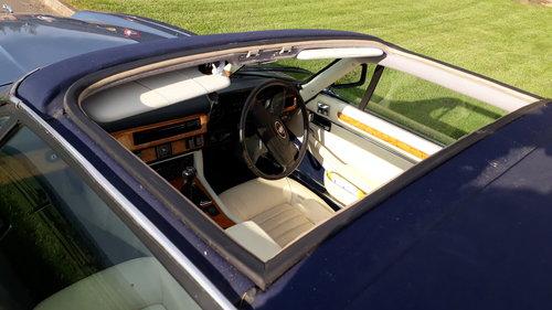 Jaguar XJ-SC Cabriolet 3.6 Manual 1987 Restored £7k 3 Owners SOLD (picture 5 of 6)