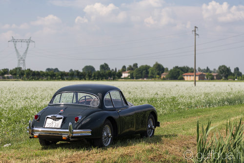 Jaguar XK150 FHC, 1957, British racing green For Sale (picture 2 of 6)