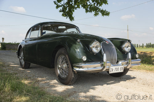 Jaguar XK150 FHC, 1957, British racing green For Sale (picture 3 of 6)