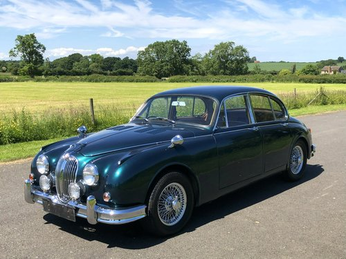 1961 Jaguar MK II Coombs Replica 4.2 Automatic SOLD (picture 1 of 6)