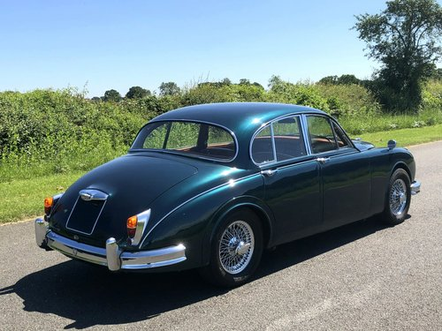 1961 Jaguar MK II Coombs Replica 4.2 Automatic SOLD (picture 4 of 6)