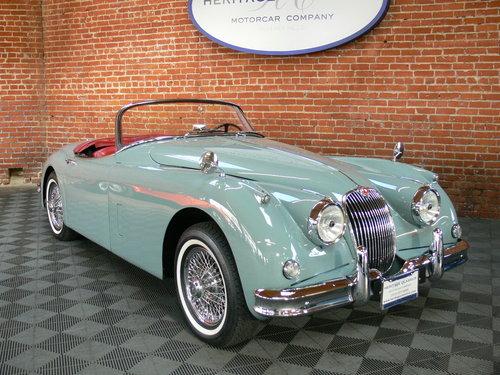 1958 Jaguar XK150 Roadster For Sale (picture 1 of 6)
