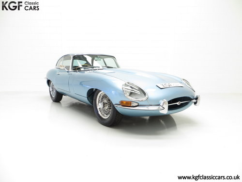 1965 A Beautiful UK RHD Jaguar E-Type Series 1 4.2 FHC SOLD (picture 1 of 6)