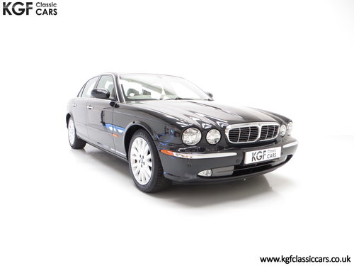 2003 A Sensuous Jaguar XJ6 3.0SE X350 with14,258 Miles SOLD (picture 1 of 6)