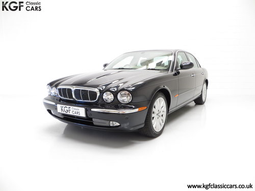 2003 A Sensuous Jaguar XJ6 3.0SE X350 with14,258 Miles SOLD (picture 2 of 6)
