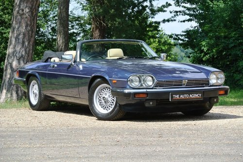 1990 JAGUAR XJS V12 **EXTENSIVE SERVICE HISTORY FILE** For Sale (picture 1 of 6)