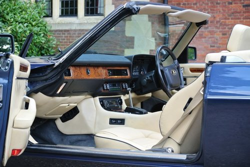 1990 JAGUAR XJS V12 **EXTENSIVE SERVICE HISTORY FILE** For Sale (picture 3 of 6)
