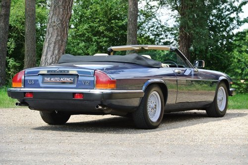1990 JAGUAR XJS V12 **EXTENSIVE SERVICE HISTORY FILE** For Sale (picture 6 of 6)