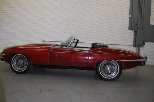 1969 Jaguar XKE E-type Roadster Project, needs TLC For Sale (picture 3 of 6)