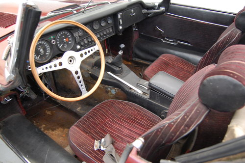 1969 Jaguar XKE E-type Roadster Project, needs TLC For Sale (picture 4 of 6)