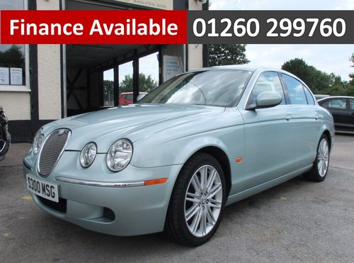2007 JAGUAR S-TYPE 3.0 V6 4DR AUTOMATIC SOLD (picture 1 of 6)