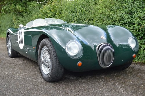 1961 Jaguar Proteus C Type replica  SOLD (picture 1 of 6)
