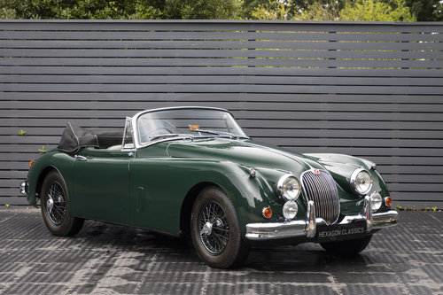 1960 JAGUAR XK150 3.8 S DHC, RHD For Sale (picture 1 of 6)