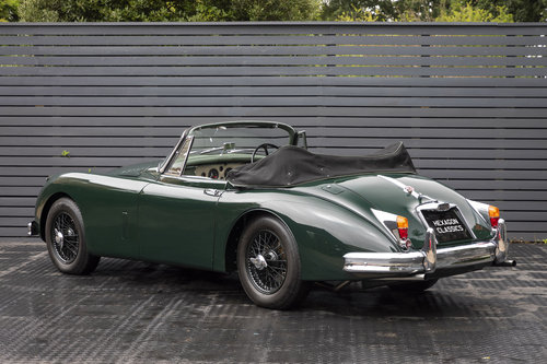 1960 JAGUAR XK150 3.8 S DHC, RHD For Sale (picture 2 of 6)