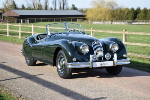 1956 XK 140 OTS ROADSTER For Sale (picture 1 of 5)