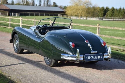 1956 XK 140 OTS ROADSTER For Sale (picture 2 of 5)