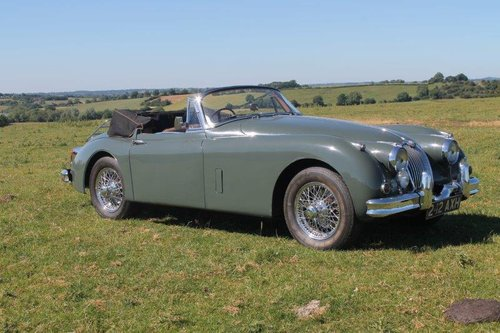 1960 Jaguar XK150 SE 3.4 Drophead Coupe For Sale (picture 1 of 6)
