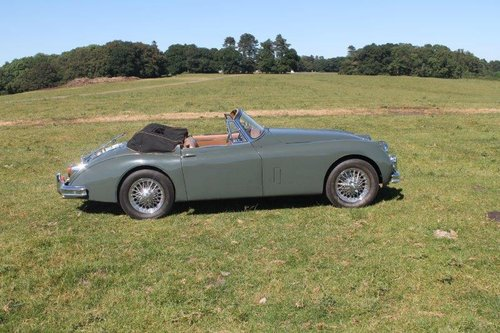 1960 Jaguar XK150 SE 3.4 Drophead Coupe For Sale (picture 2 of 6)