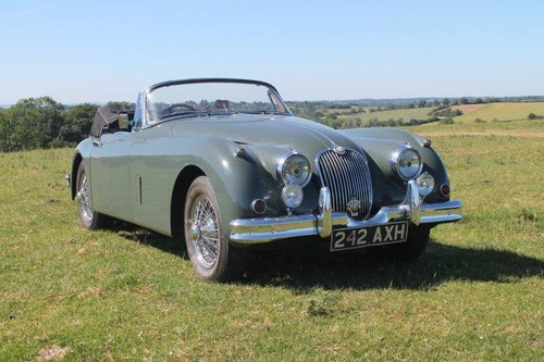 1960 Jaguar XK150 SE 3.4 Drophead Coupe For Sale (picture 3 of 6)