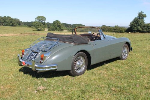1960 Jaguar XK150 SE 3.4 Drophead Coupe For Sale (picture 4 of 6)