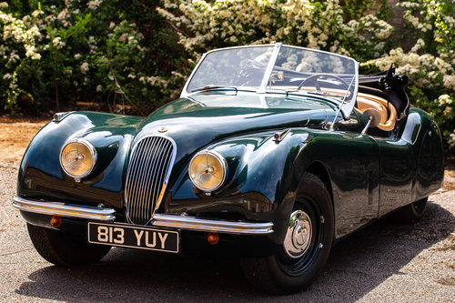JAGUAR XK120 OTS 1951 LHD MATCHING NUMBERS For Sale (picture 1 of 6)