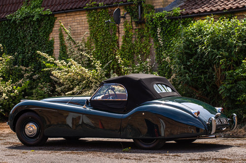 JAGUAR XK120 OTS 1951 LHD MATCHING NUMBERS For Sale (picture 2 of 6)