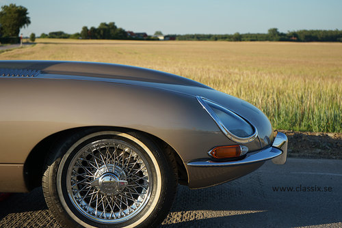 1964 Jaguar E-type Series 1 Coupe LHD in golden sand For Sale (picture 4 of 6)