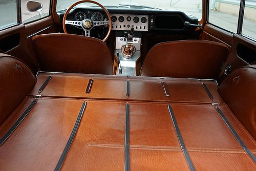 1964 Jaguar E-type Series 1 Coupe LHD in golden sand For Sale (picture 6 of 6)