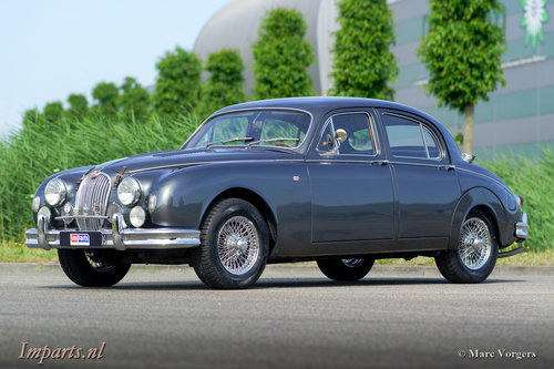 1959 Unique Jaguar Mk1 3.4 LHD For Sale (picture 1 of 6)