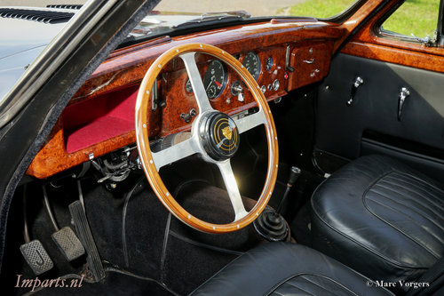 1959 Unique Jaguar Mk1 3.4 LHD For Sale (picture 2 of 6)